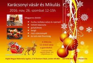 Karácsonyi vásár és Mikulás
